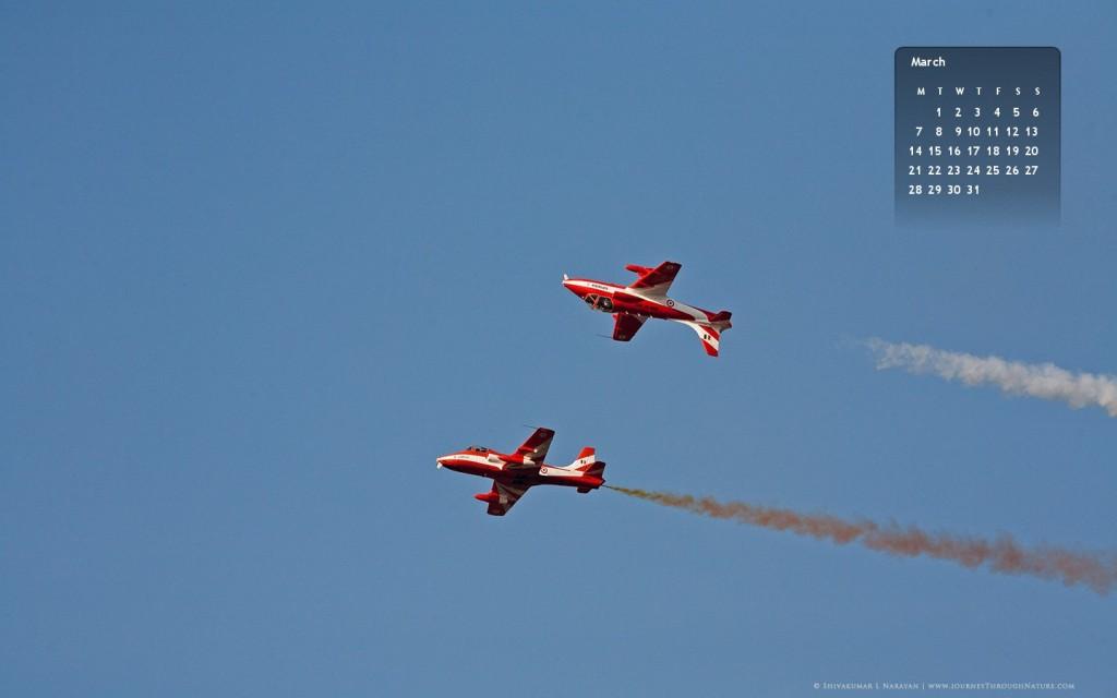 2011March_AeroIndia2011_Calendar