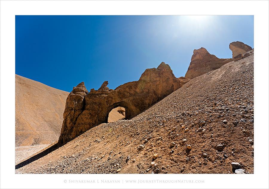 Gateway to Heaven, Arches, Sarchu, Ladakh