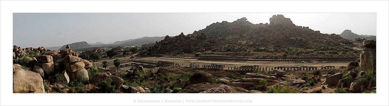 Hampi Panorama (Digital Art)