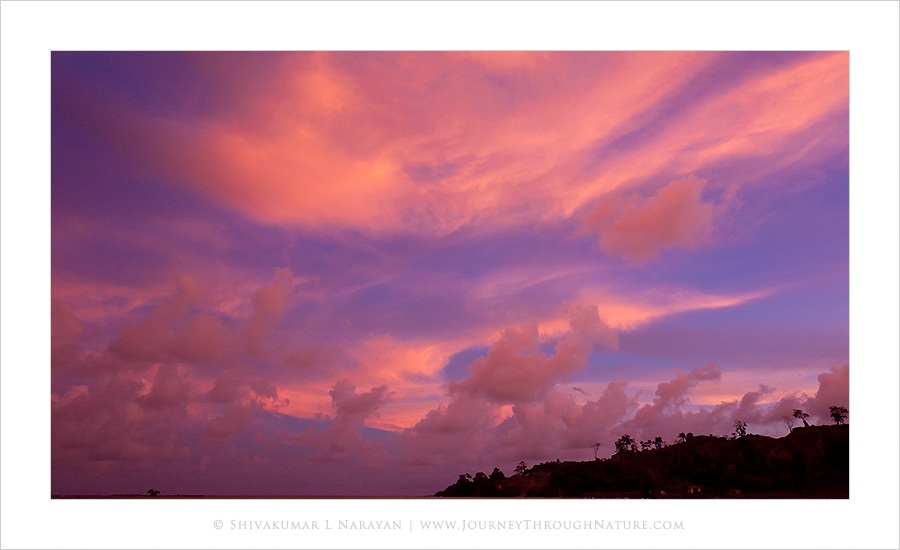 Sunset image from Andaman