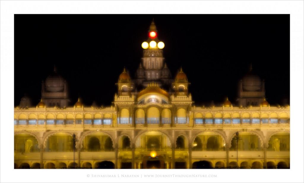 Mysore Palace - A Dreamy View