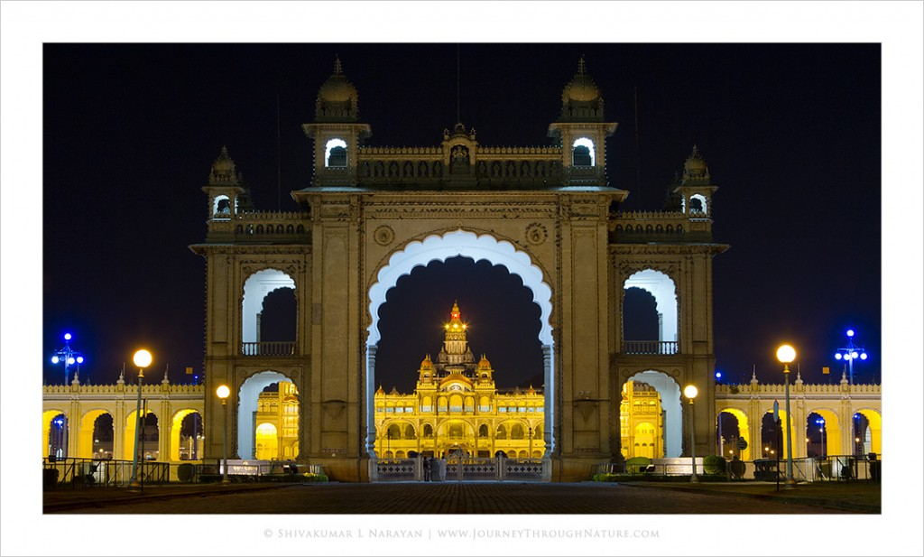 Mysore Palace Framed
