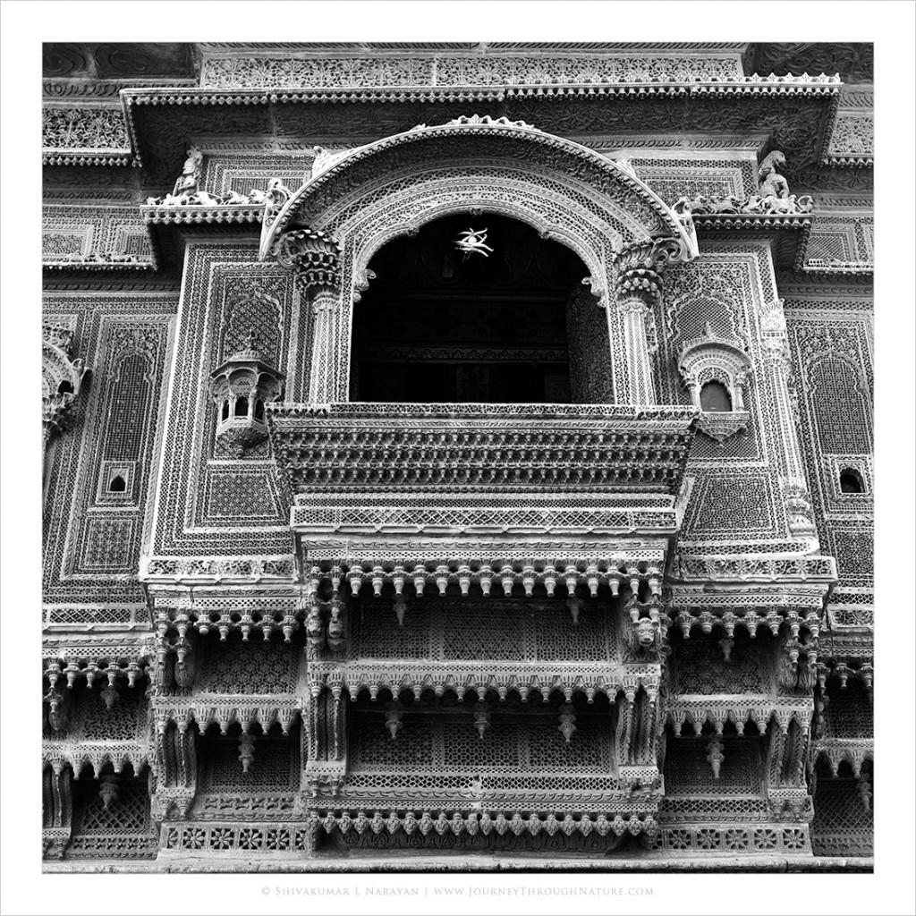 Supersticious Haveli in Jaisalmer