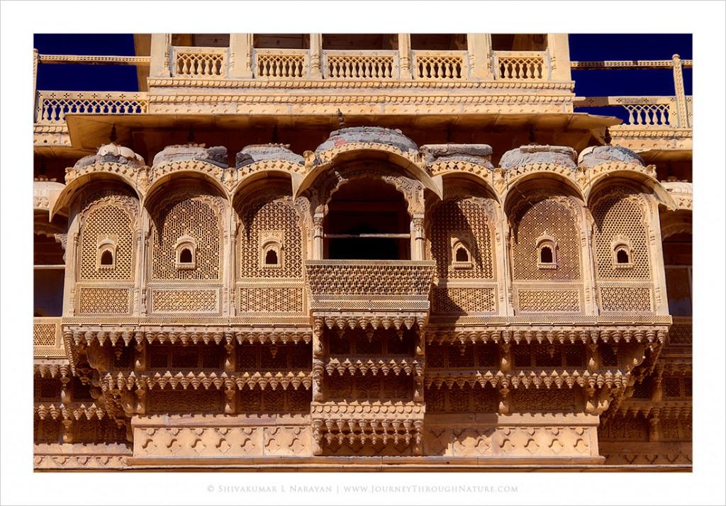 Window in Jaisalmer Golden Fort