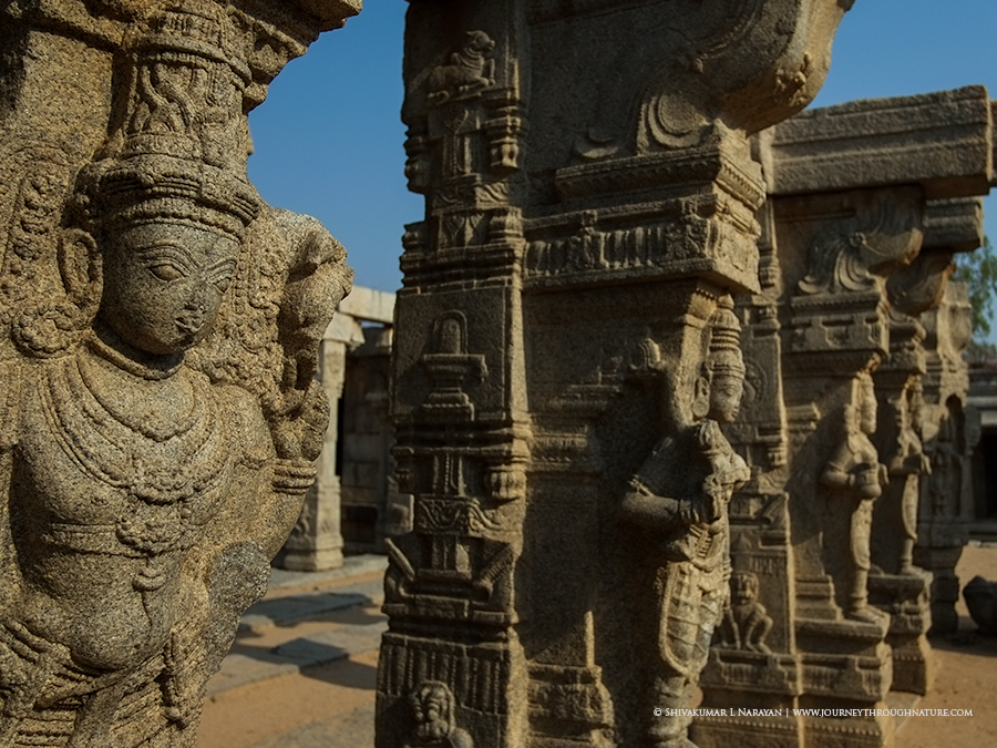 Pillars of Lepakshi Temple