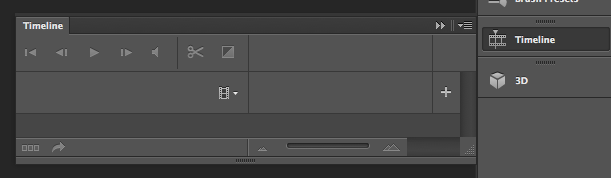 Introduction of video timeline in Photoshop CS6