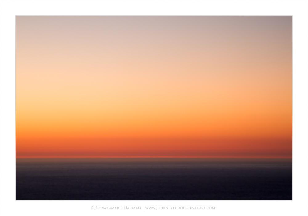 Color Splash, Abstract Sea Scape, Bigsur, California