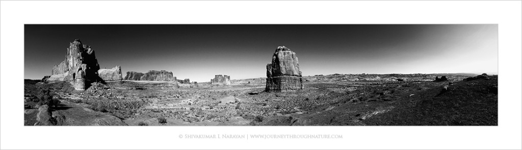 Arches National Park, Moab, Iphone Panorama