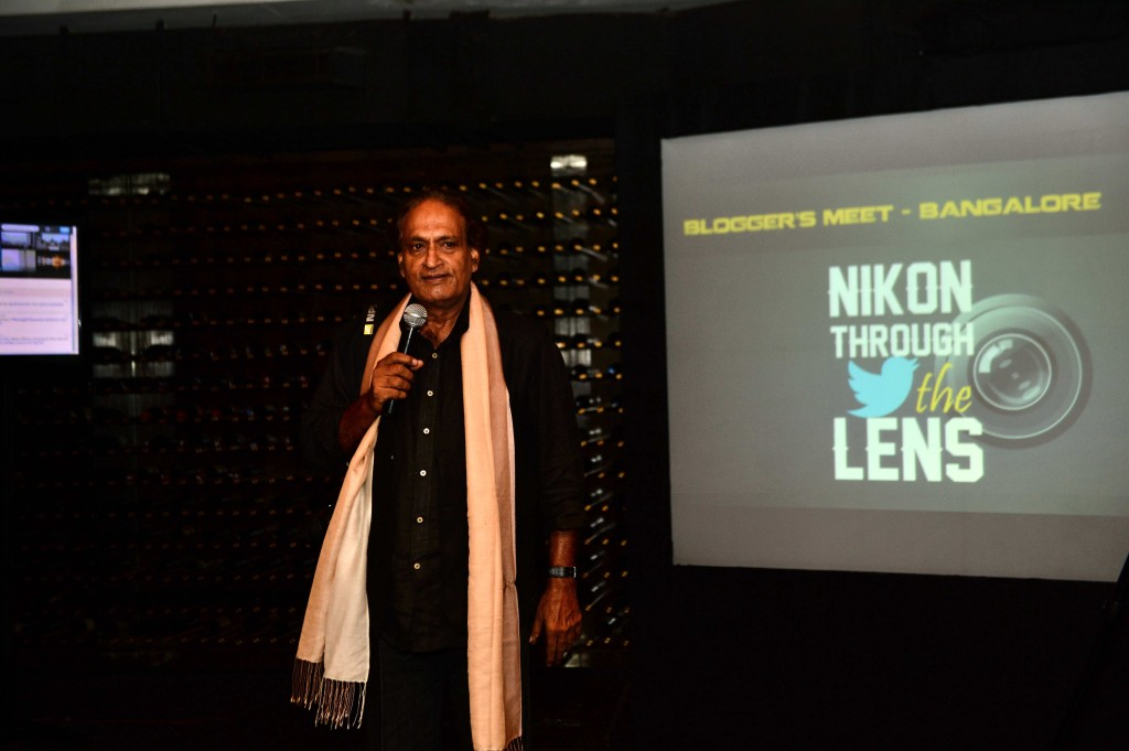 Mr. Raghu Rai @ Nikon Meet