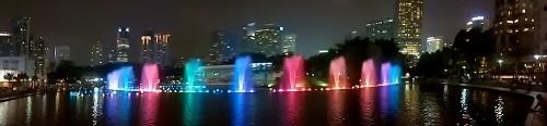 Musical Fountain, Petronas Twin Towers, Malaysia
